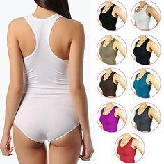 BALI Lingerie – Damen Body Sportbody mit breiten Trägern – S M L XL (S/M – (36/38), Schwarz)  http://www.damenfashion.net/shop/bali-lingerie-damen-body-sportbody-mit-breiten-traegern-s-m-l-xl-sm-3638-schwarz/