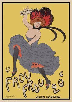 Le Frou Frou 20', journal humoristique
