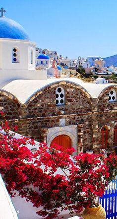 Oia, Santorini, Greece. Cannot wait to go back here.