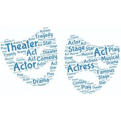 Wallmonkeys Two Faces of Theater Peel and Stick Wall Decals WM47617 (18 in W x 10 in H)
