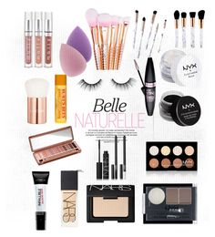 """""""Everyday makeup routine🙈"""" by robbieandhunter on Polyvore featuring beauty, L'Oréal Paris, NARS Cosmetics, tarte, Maybelline, NYX, Urban Decay, Charlotte Russe, Burt's Bees and Lancôme"""