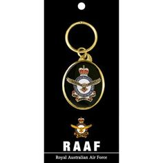 Defence Gifts - Air Force Key Ring On Card, $9.00 (http://www.defencegifts.com.au/air-force-key-ring-on-card/)