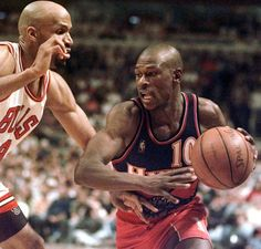 Police say the former Hawks guard, Mookie Blaylock, is on life support after a car crash in suburban Atlanta on Friday, May 31, 2013. (AP Photo/Michael S. Green, File)