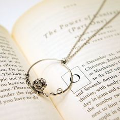 Love this little prince rose necklace