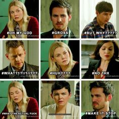 Everyone's reaction when Regina tells them about her 'certain chemistry' with Rumple/Mr. Gold in the past back in the Enchanted Forest. Imagem embutida