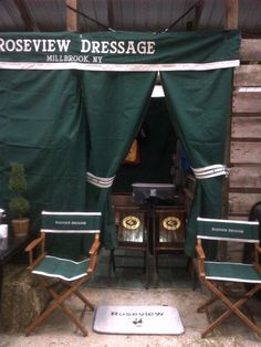 The tack stall at Dressage at Devon on the last day!!    Roseview Dressage, Millbrook, NY.    http://pinterest.com/RosevieDressage/
