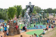 54 Free Things to do in Edmonton this summer (Photo: Broadmoor Playground)