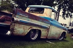 VERY RARE PATINA HERE ..NOT TO MENTION THE CHEVY!