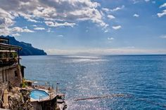#Buongiorno! Al Ristorante L'Antica Cartiera i nostri ospiti potranno godere di un panorama favoloso!  #ravello, #amalfi, #sole