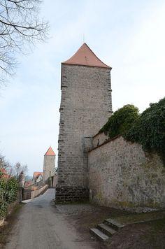 Dinkelsbühl - Germany - Weißer Turm