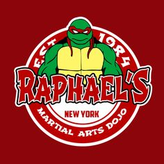 Turtle's martial arts dojo ( red ) - NeatoShop