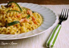Pasta+salmone+e+zucchine
