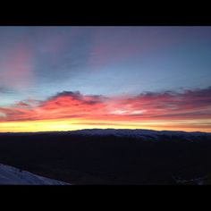 Photo by mcaveigh  One of the benefits to getting on the mountain by 6am  #cardrona