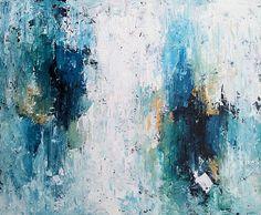 ORIGINAL arte grande de la pintura abstracta pintura acrílica
