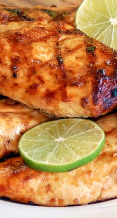 The Best Ever Grilled Margarita Chicken Recipe ~ THIS.IS.THE.BEST.