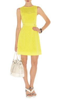 yellow dress karen millen amsterdam