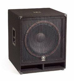 Yamaha Club V Passive Subwoofer, Judo Club, Dj Decks, Pro Audio Speakers, Passive Subwoofer, Sound Stage, Home Theater Speakers, Bass Amps, Loudspeaker