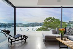 Amazing seaside residence located in Sydney, Australia, designed by Huw Lambert. . Clontarf Home by Huw Lambert