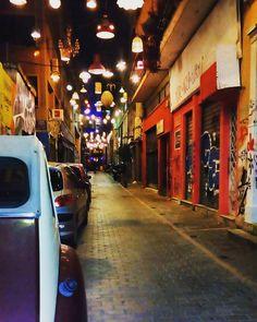 Piitaki street,  Athens Οδός Πιττάκη November 2016