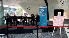 Il foulard #Musica di #DAPHNÉ all'#Expo con il Comune di #Sanremo ha accompagnato l'esibizione dell' #OrchestraSinfonicadiSanremo.
