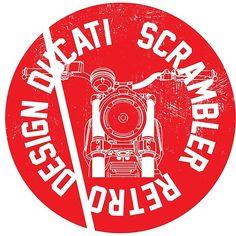 'Ducati Scrambler retro design' by Ducati Scrambler, Retro Design, Motorbikes