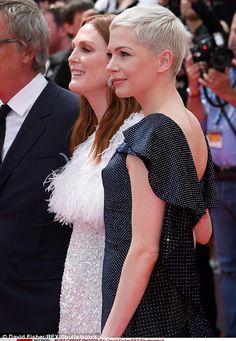 Michelle Williams attends Wonderstruck premiere in Cannes | Daily Mail Online