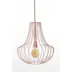 Lampa druciana Salon - JABBA Design Salons, Ceiling Lights, Retro, Lighting, Pendant, Design, Home Decor, Lounges, Decoration Home