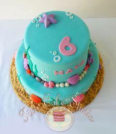 Under the Sea, #little #mermaid #cake #littlemermaid #party
