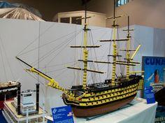 HMS Victory: A LEGO® creation by Nick Barrett : MOCpages.com