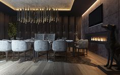 restaurant / vip room on Behance