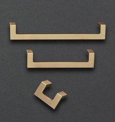 2 Pin Door Knob Unlacquered Foré 35 mm Plain cuisine bois armoire tiroir Bricolage