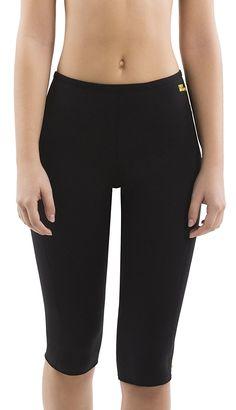 193f1d4171e Hot Shapers Women Sauna Fat Burn Capri Pants – High Waist Sweat Workout  Leggings  Sports