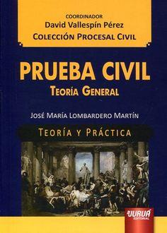 Prueba civil : teoría general / José María Lombardero Martín. - 2015