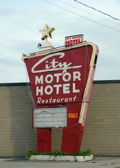 City Motor Hotel, I know you like old signage. :)