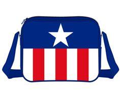 Bandolera Capitán América, uniforme Estupenda bandolera, unisex,  basada en el gran héroe Capitán América.