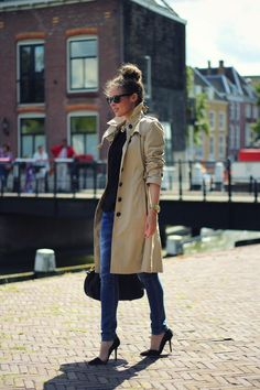 Fall Basics: The ClassicTrench - INDIQUE LIFE - INDIQUE HAIR