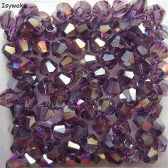 Argent Couleur Blanche 3*4mm 145pcs Washer Autriche Facette Cristal Perles De Verre