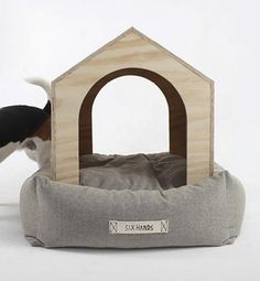 Luxury Dog House And Bed Of Natural Materials | DigsDigs