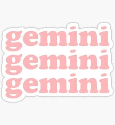 Blush Pink stickers featuring millions of original designs created by independent artists. Gemini Art, Gemini And Scorpio, Zodiac Signs Gemini, Simpson Wallpaper Iphone, Emoji Wallpaper Iphone, Phone Stickers, Cute Stickers, Gemini Wallpaper, Sailor Moon Quotes
