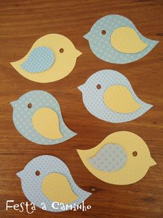 Felt Crafts, Diy And Crafts, Crafts For Kids, Arts And Crafts, Paper Crafts, Bird Crafts, Bird Applique, Applique Patterns, Applique Wall Hanging