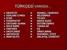 Turkish Language, Literature, English, Education, Learning, Words, Literatura, Studying, Teaching
