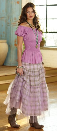 Cinderella skirt & peasant top - Crow's Nest Trading Co.
