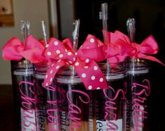 One Personalized Tumbler, Bridesmaid Favor, Wedding Favor, Bridesmaid Gift, Bridal Party, Bachelorette Party, Bridesmaid Tumbler, Teacher by paolabrownshop. Explore more products on http://paolabrownshop.etsy.com