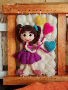 Textiles, Weaving, Teddy Bear, Toys, Animals, Felt Boards, Tapestry Weaving, Knitting Designs, Dressmaking