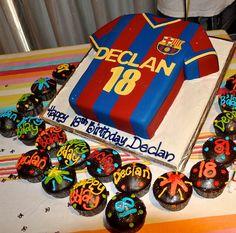 4e6c1a785 Alert Want To Buy 2003 2004 Away 3rd Kit Soccer Forum Nike Barcelona  Barcelona Cake