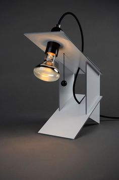 """Table Lamp,"" by Andreas Mass #dibond #lamp #design"