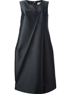 JIL SANDER - sleeveless voluminous dress 6