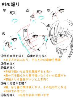 顔の描き方だけをざっくり解説するよ(全7ページ) [4]