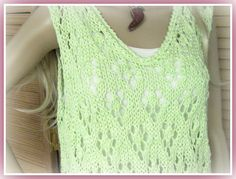 Cotton Top Diamond Pop Over pattern by Jean Fleming