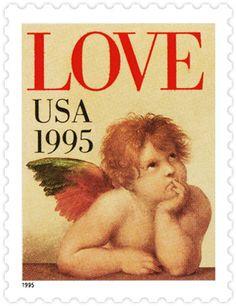 Love: Cherub from Sistine Madonna, by Raphael - 1995